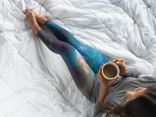 Carina Nebula Yoga Leggings (EcoPoly Fabric)