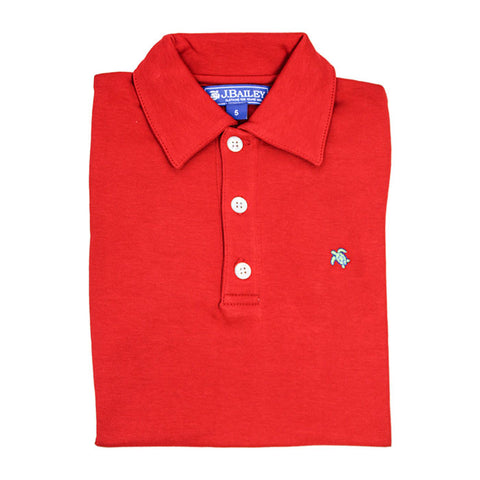 J. Bailey - SS Harry Polo - Red