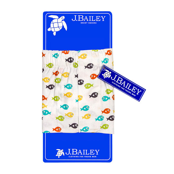 J. Bailey by The Bailey Boys - Fish Boxer Shorts