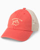 Southern Tide - Boys' Washed Skipjack Trucker Hat - Charleston Red