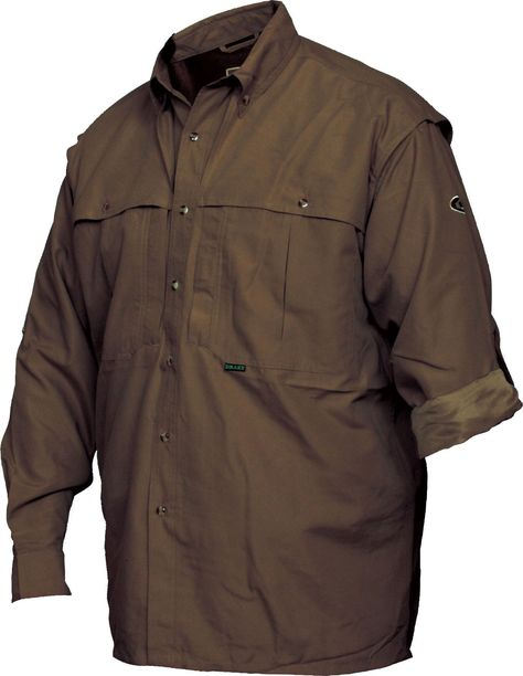 Drake - Young Guns Casual LS Shirt - Olive