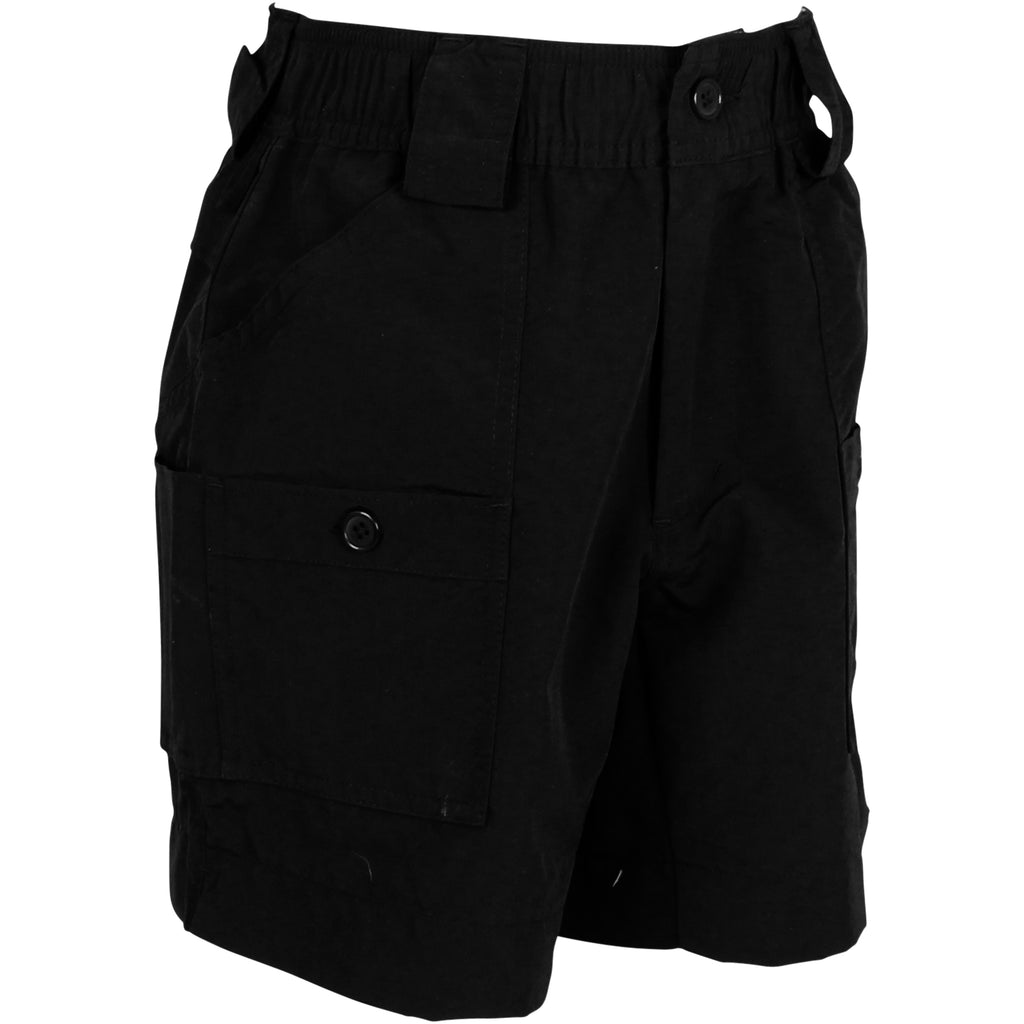 AFTCO - Youth Boys Fishing Shorts - Black