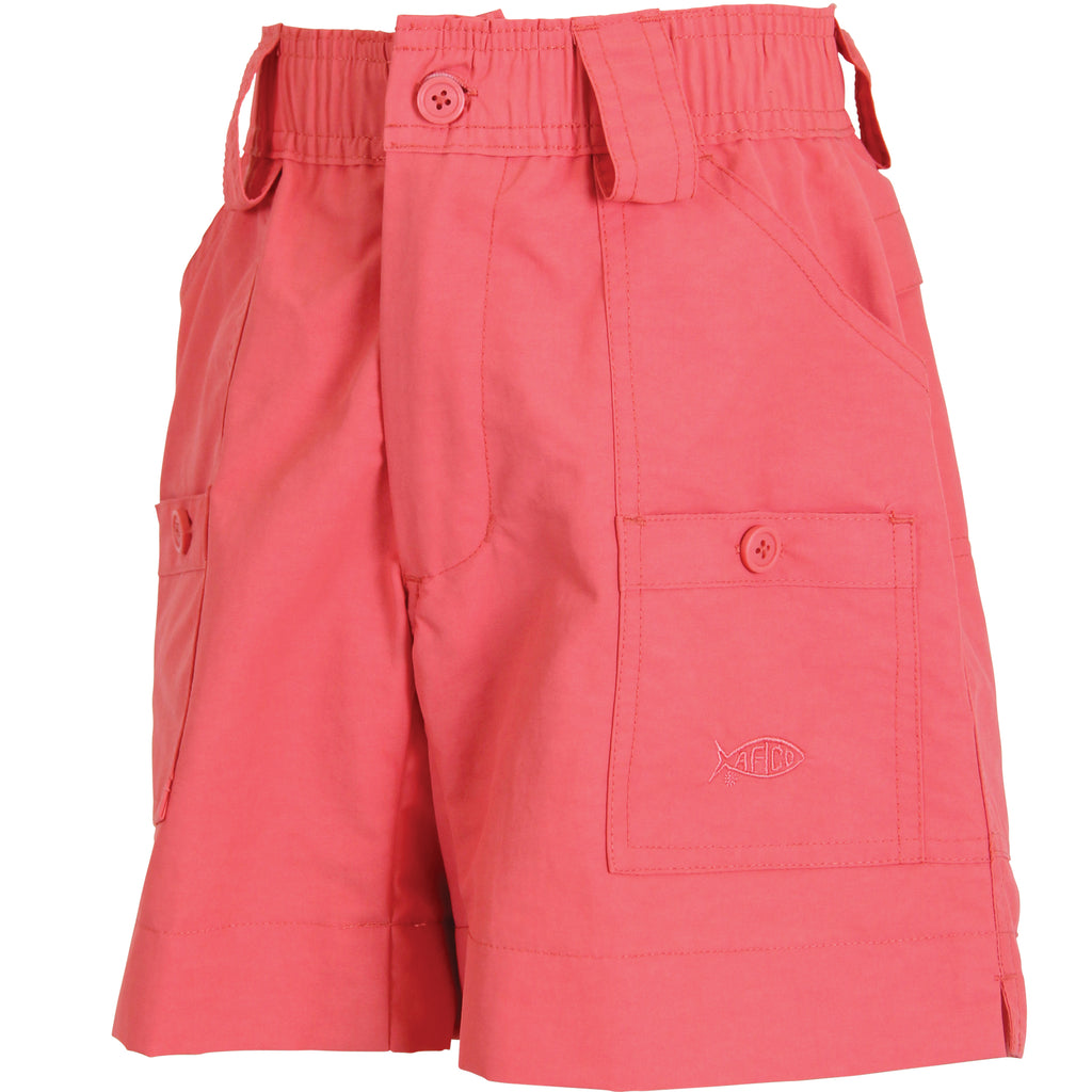 AFTCO - Youth Boys Fishing Shorts - Rose
