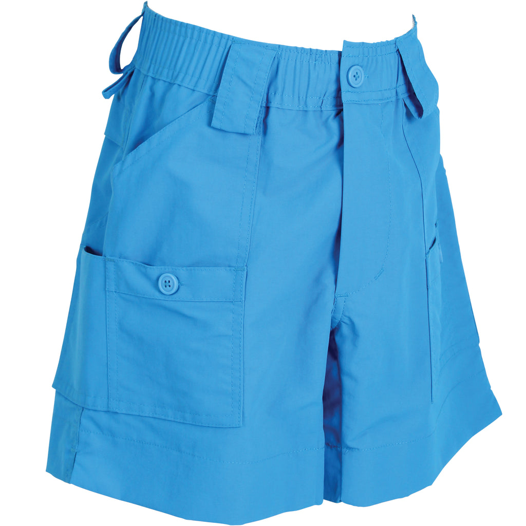AFTCO - Youth Boys Fishing Shorts - Vivid Blue