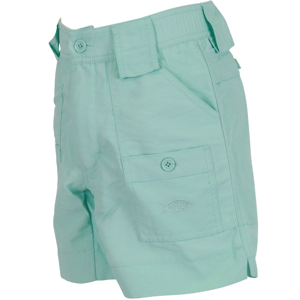 AFTCO - Youth Boys Fishing Shorts - Mint