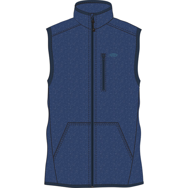 AFTCO - Boys Vista Vest - Midnight Heather