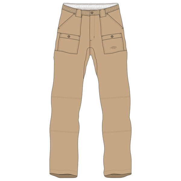AFTCO - Boys Fishing Pants - Khaki
