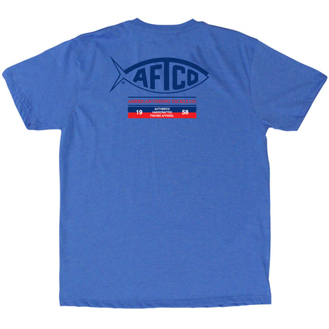AFTCO - Youth Boys Fifty Eight - Sea Blue Heather