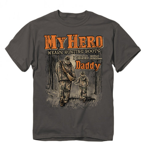 Buck Wear - Youth My Hero Tee - Charcoal