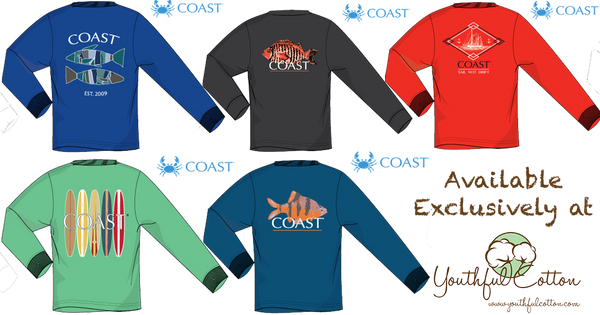 Coast Apparel - LS 2017 Fall Collection 5 Shirt Bundle (Youthful Cotton Exclusive!)