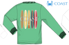 Coast Apparel - LS Surfboards - Kelly Heather (Youthful Cotton Exclusive!)