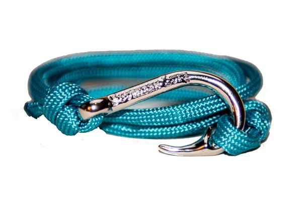 Southern Lure - Youth Bracelet - Aqua Blue