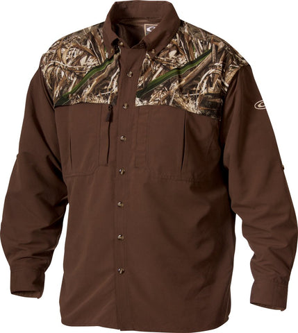 Drake - Young Guns Wingshooters LS Shirt - Realtree MAX5