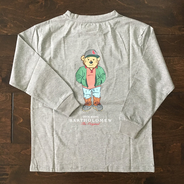 Bartholomew - Duck Boots LS Shirt - Heather