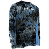 HUK Performance Fishing - Youth Kryptek Icon LS Performance Tee - Kryptek Neptune
