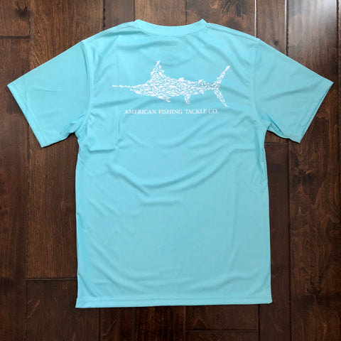 AFTCO - Youth Boys Jigfish SS Shirt - Mint
