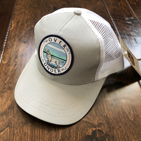Over Under Clothing - Youth Mesh Back Lake Lab Trucker Hat - Gray