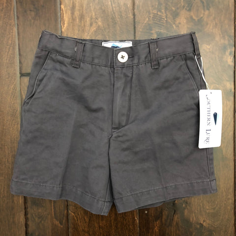 Southern Lure - Toddler & Youth Twill Shorts - Slate