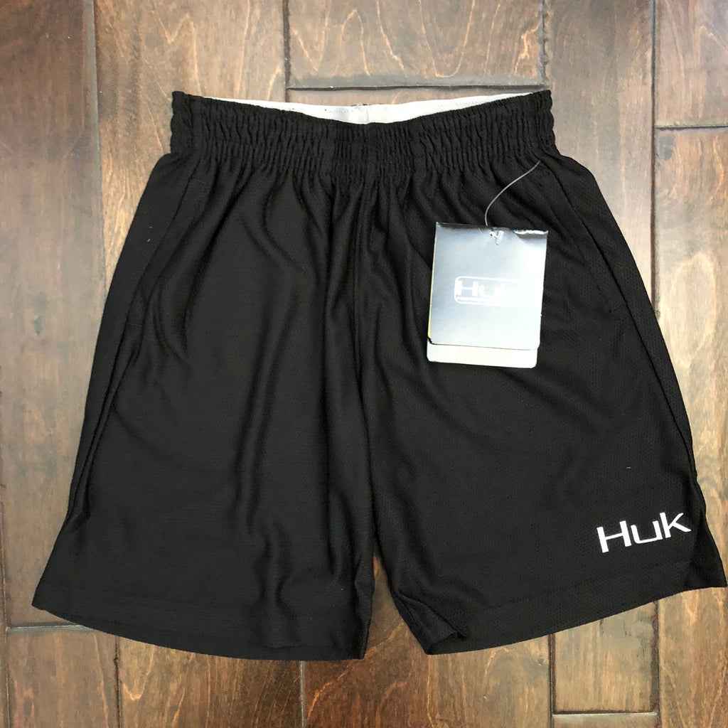 HUK Performance Fishing - Youth Mate Gym Shorts - Black