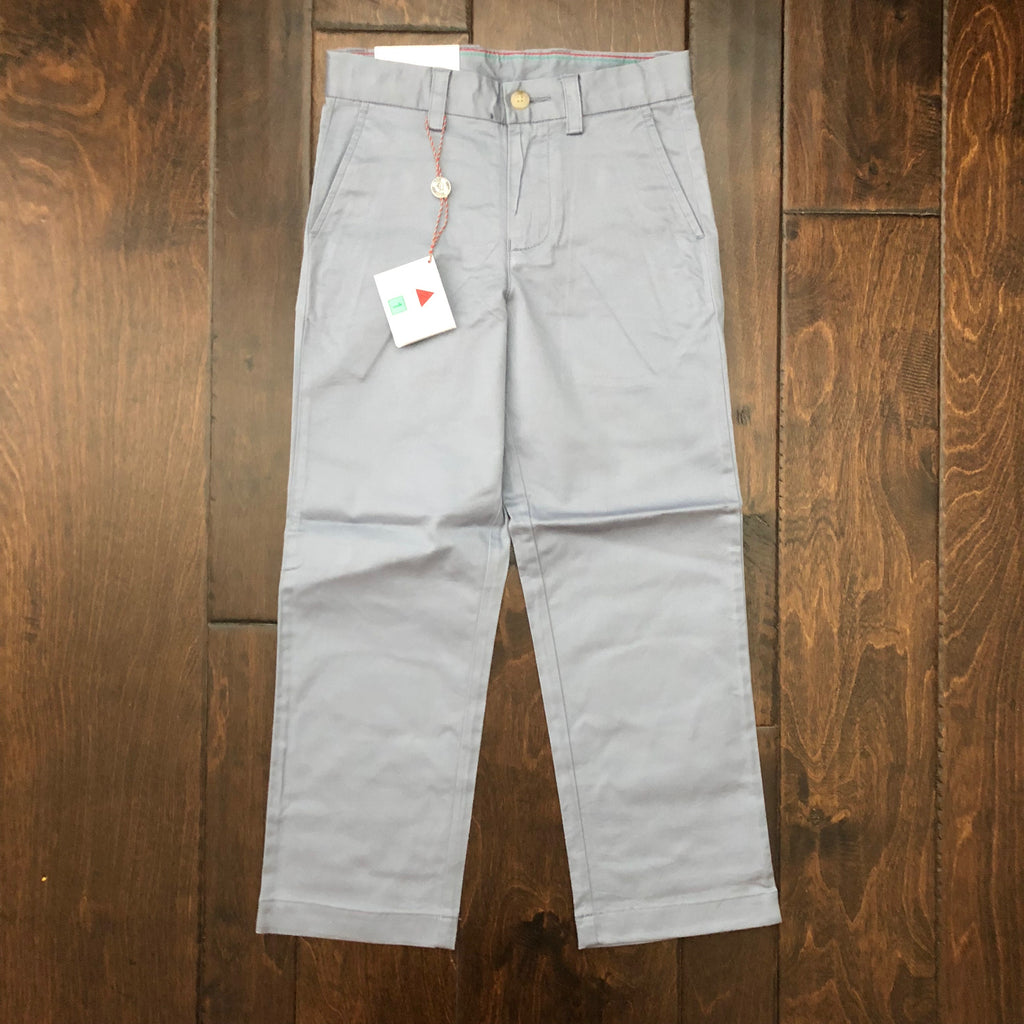 Southern Tide - Youth Channel Marker Pants - Tsunami Grey