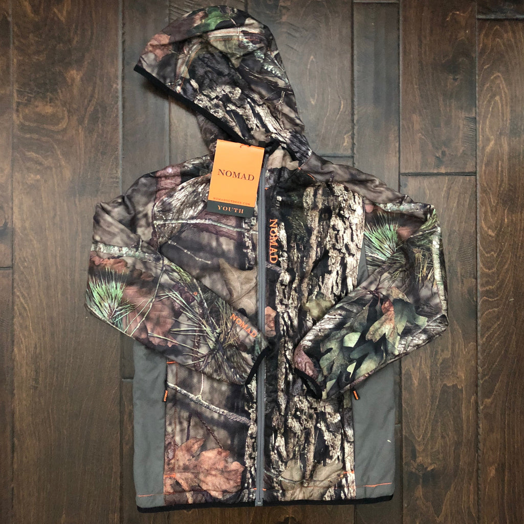 Nomad - Youth Harvester Full Zip Hoodie - Camo