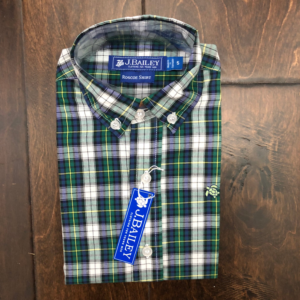 J. Bailey by The Bailey Boys - Mallard Plaid Button Down Shirt