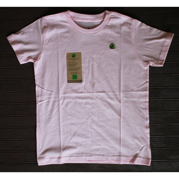 Loggerhead Apparel - Pink Short Sleeve Embroidered Logo Shirt (8T Available)