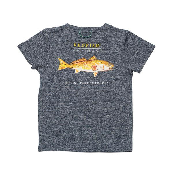 Prodoh - SS Redfish Performance Tee - Gray