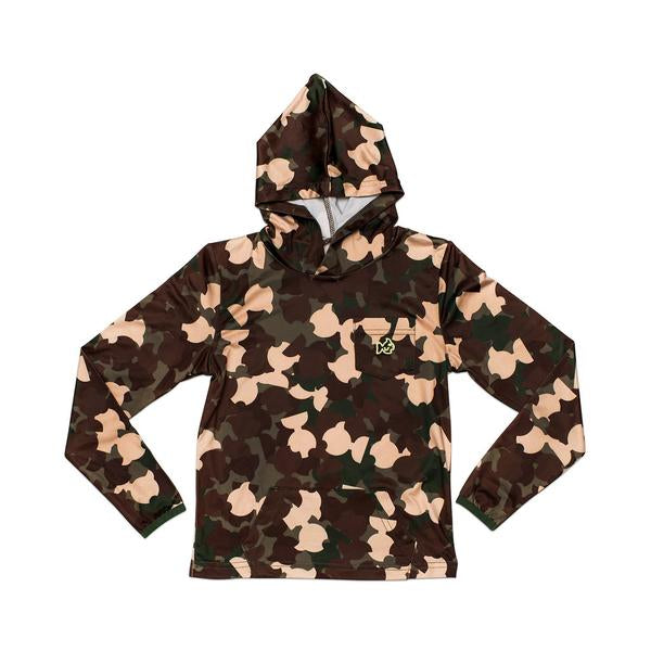 Prodoh - Hooded LS Performance Tee - Camo