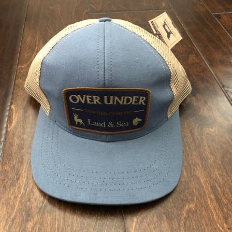 Over Under Clothing - Youth Mesh Back Sporting Company Trucker Hat - Light Blue