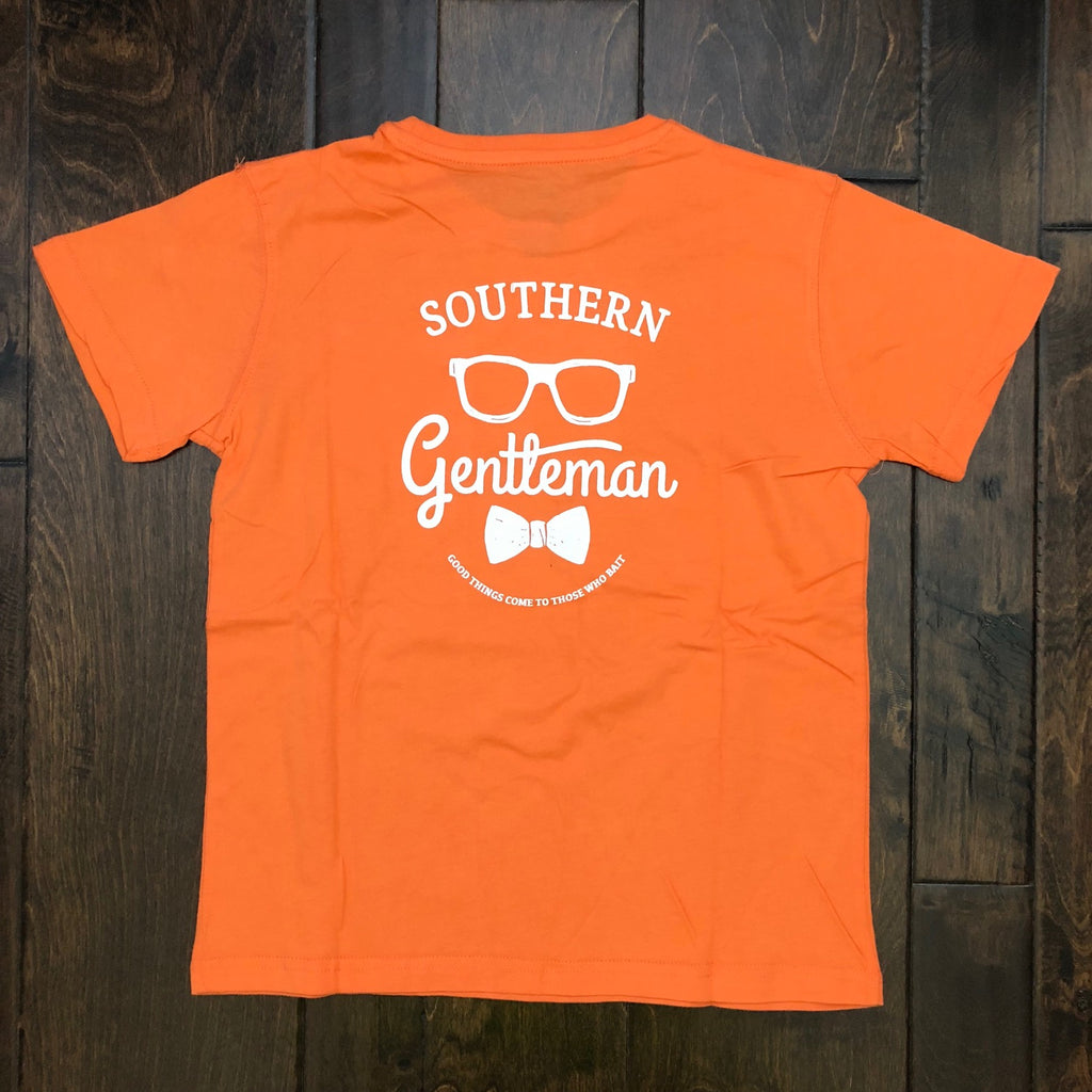 Southern Lure - Youth SS Southern Gentlemen Tee - Melon