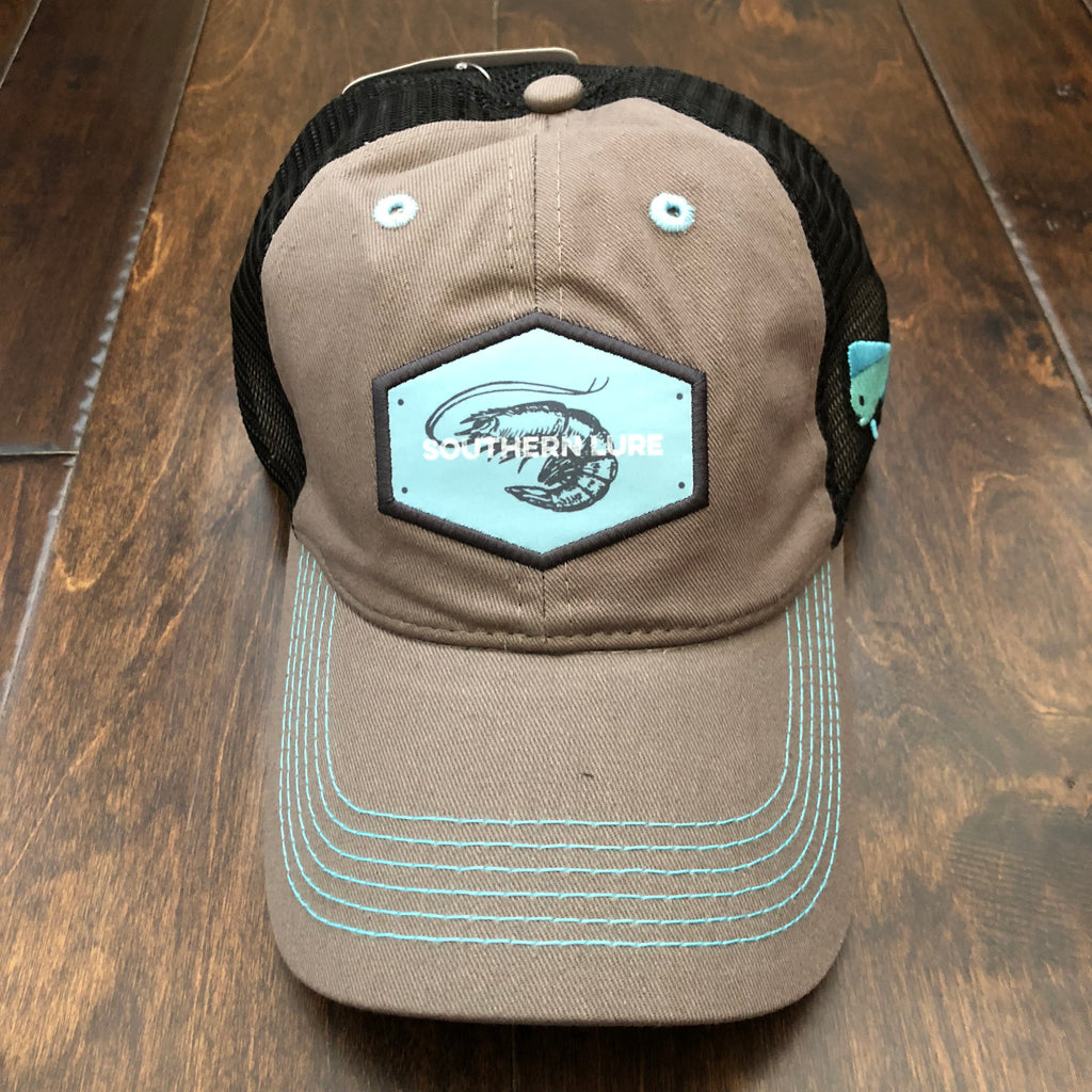 Southern Lure - Youth Shrimp Trucker Hat - Charcoal
