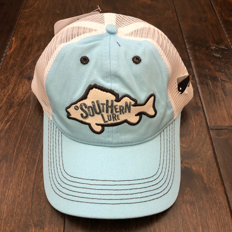 Southern Lure - Youth Pinfish Trucker Hat - Sky Blue