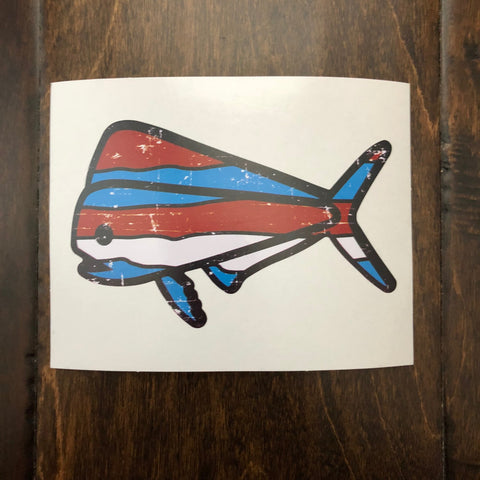 Southern Lure - Decal - Red Wave