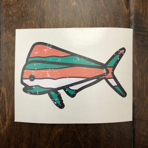 Southern Lure - Decal - Orange Wave