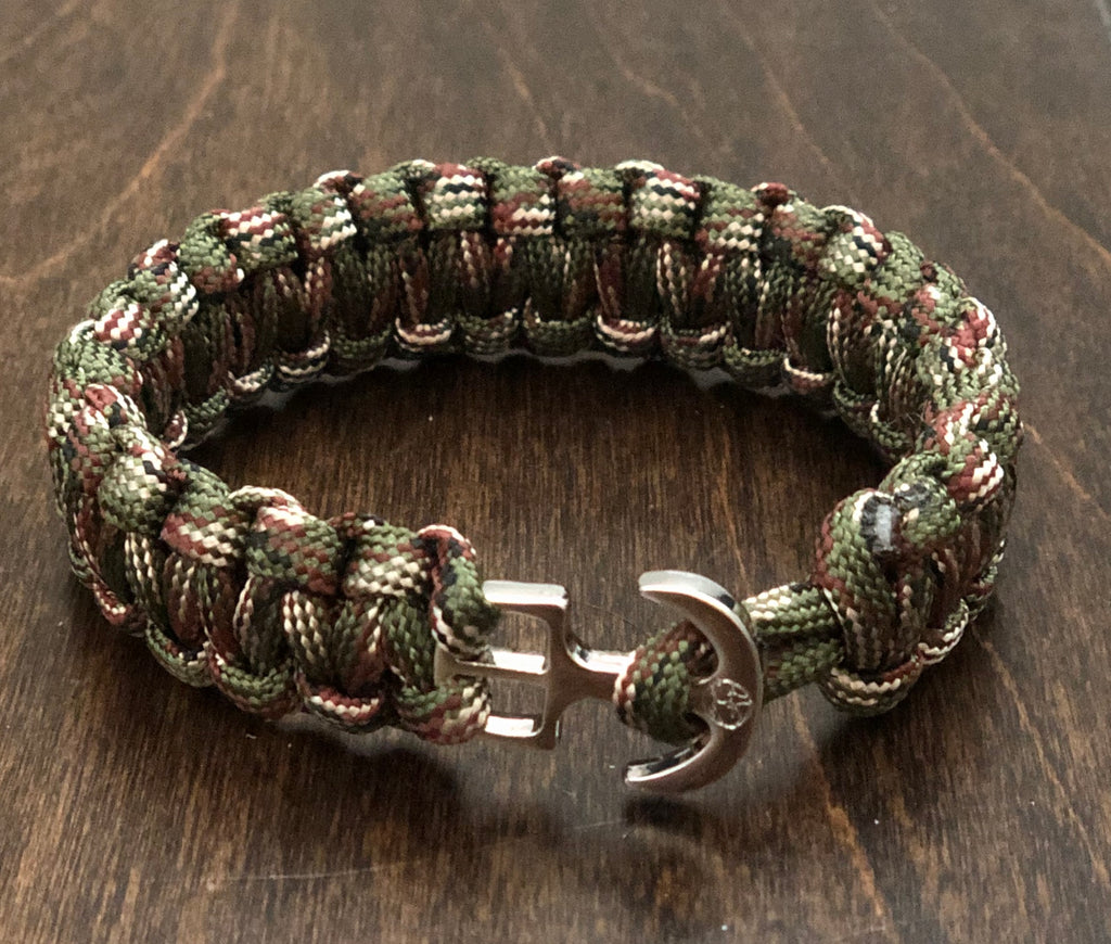 Youthful Cotton - Anchors Away Bracelet - Camo