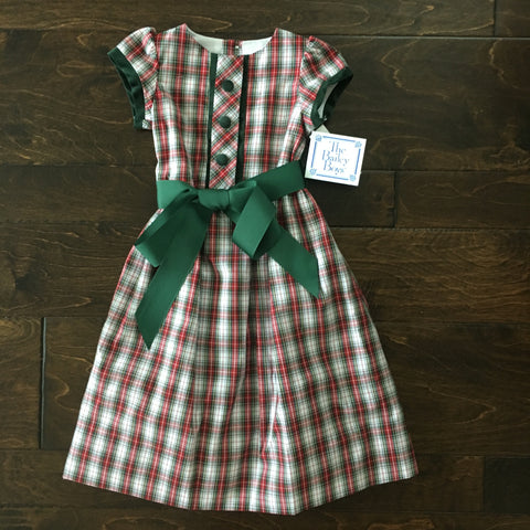 The Bailey Boys - Whisper Plaid Empire Dress