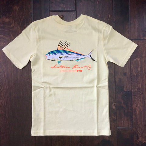 Southern Point - Youth Signature Tee - Yellow Fish