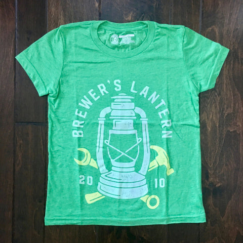Brewer's Lantern - Craftsman Logo - Grass Heather