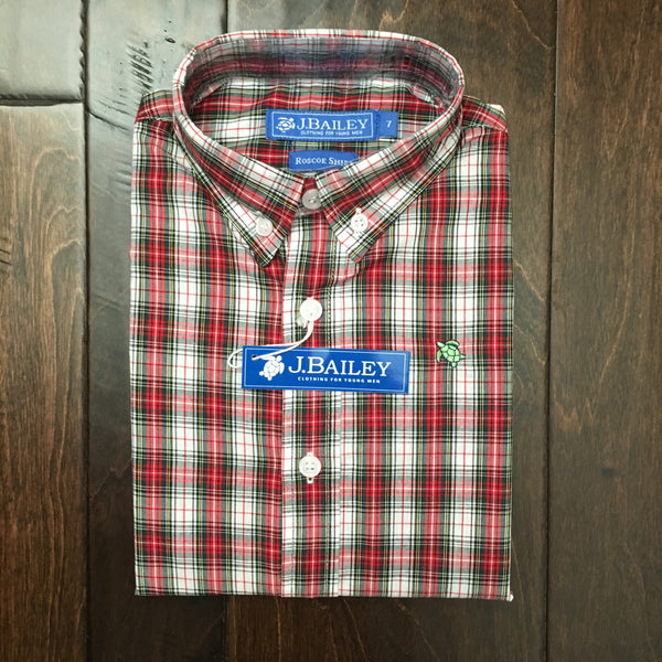 J. Bailey by The Bailey Boys - Whisper Plaid Button Down Shirt
