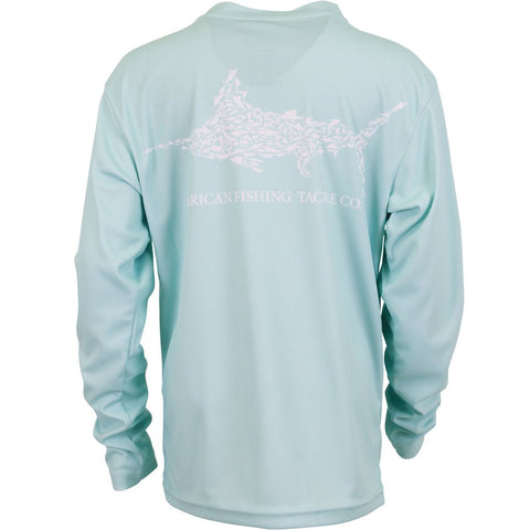 AFTCO - Youth Boys Jigfish Longsleeve Shirt - Mint