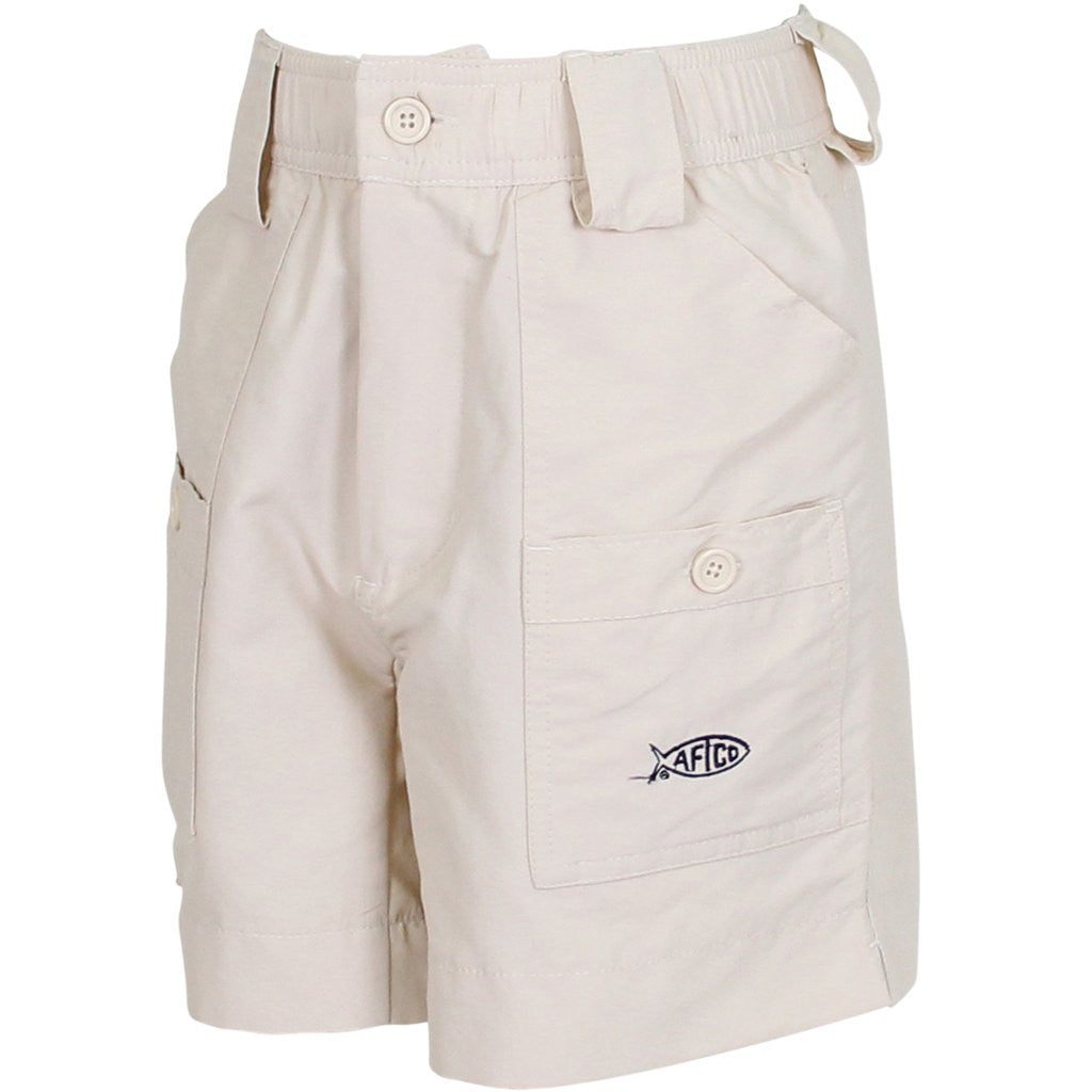 Aftco youth boys fishing shorts natural youthful cotton for Prodoh fishing shirts