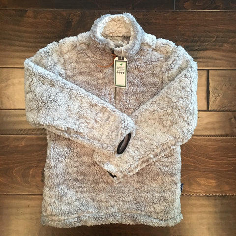 Properly Tied - Brown Frosted Pintail Pullover
