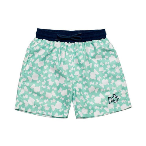 Prodoh - Fishy Swim Trunks - Beach Glass