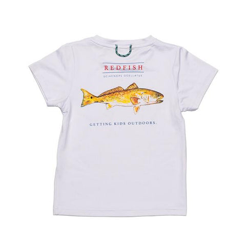 Prodoh - SS Redfish Performance Tee - White
