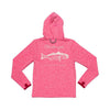 Prodoh - Redfish Hooded LS Performance Tee - Pink