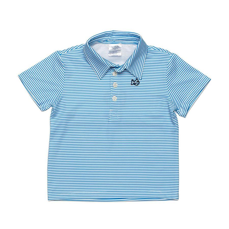 Prodoh - Performance Polo - Marina Blue Striped