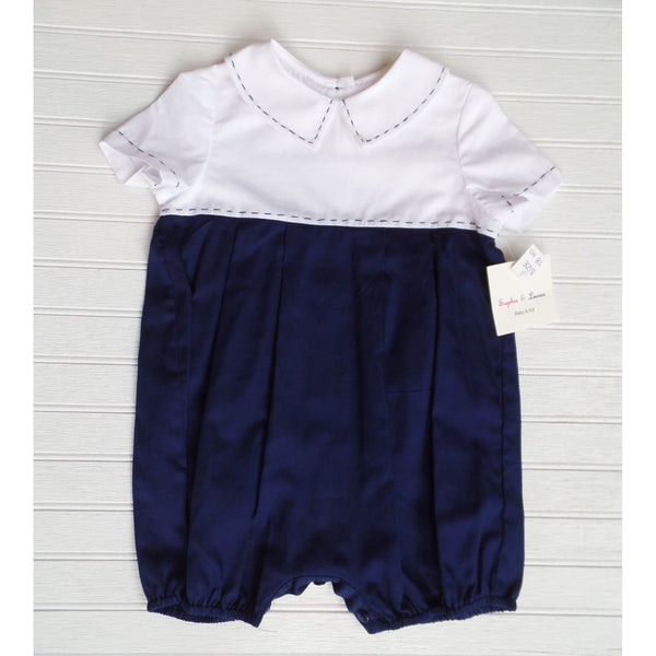 Sophie and Lucas Two Tone Romper