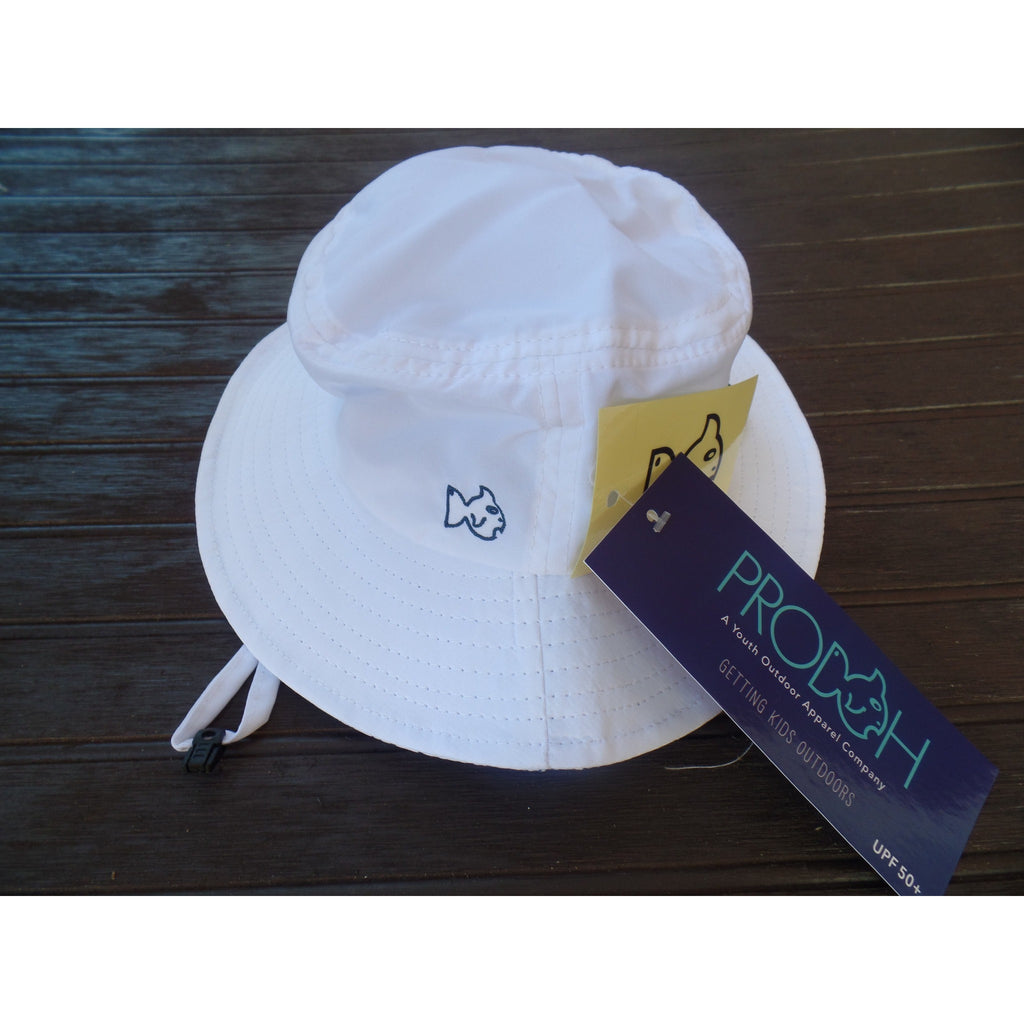 Prodoh - White Beach Bum Hat UPF 50
