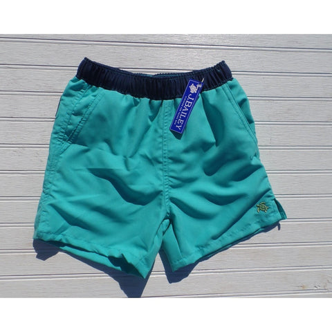J. Bailey by The Bailey Boys - Turquoise/Navy Board Shorts